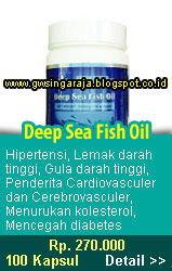 deep sea fish oil