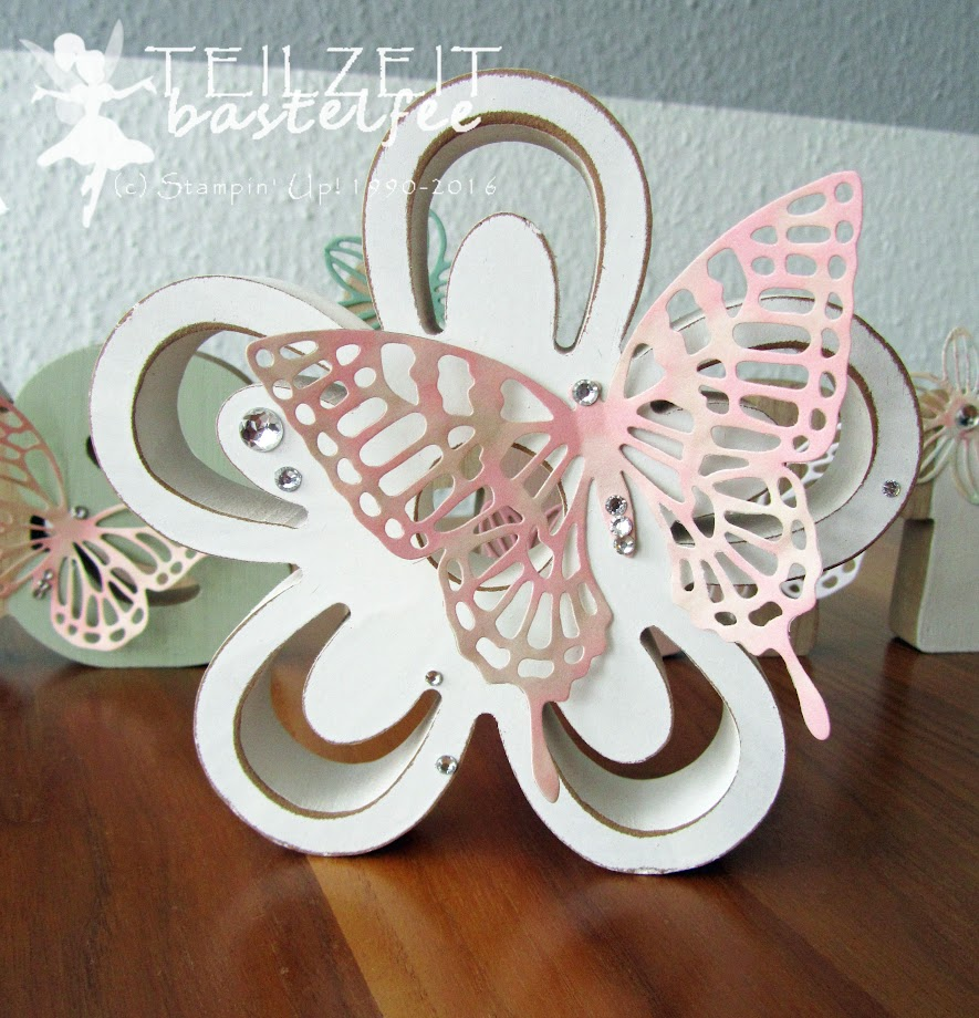 Stampin' Up! - Thinlits Schmetterlinge, Butterflies, decoration, Easter, Ostern