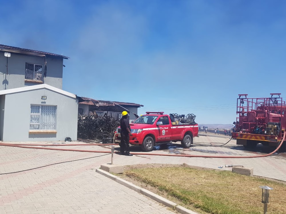 Fire destroys minister Ndabeni-Abrahams' Mthatha home - TimesLIVE