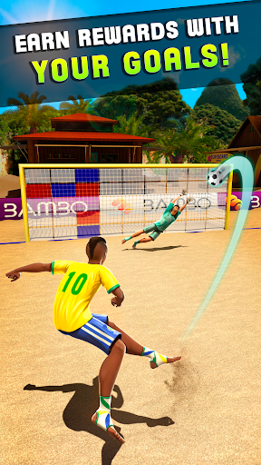 Shoot Goal - Beach Soccer Game  screenshots 2