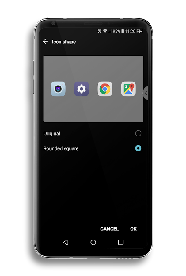 Echo Theme for LG V30 & LG G6 APK Cracked Free Download