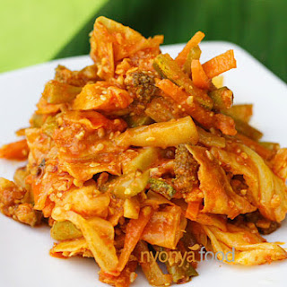 Acar Awak  Recipe (Nyonya Spicy Mixed Vegetable Pickle)