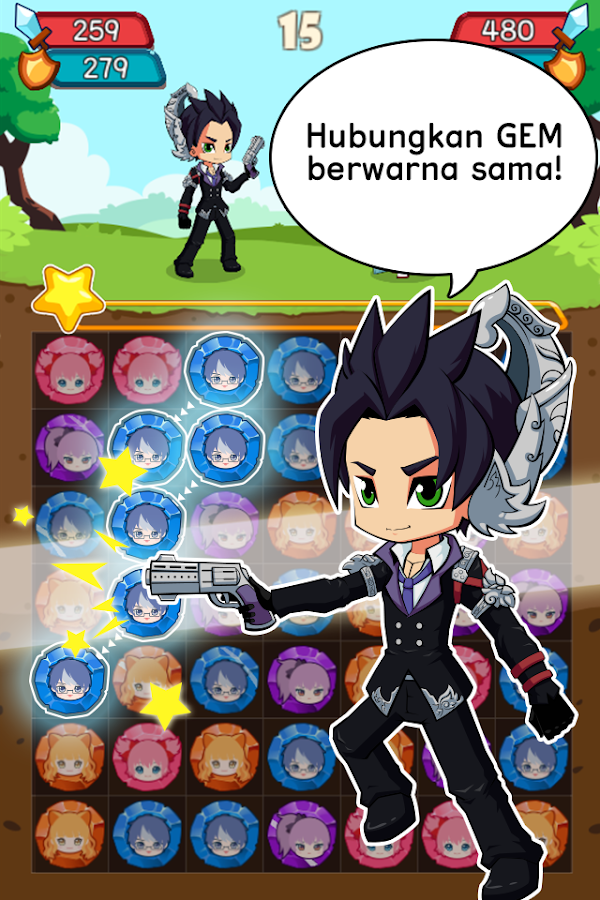 Reon Puzzle Fighter- screenshot