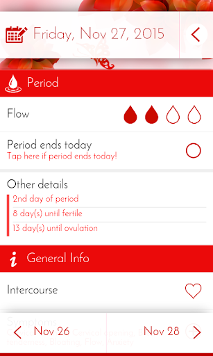 Period Tracker & Diary 6.0.1 screenshots 2