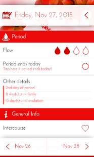 Download Period Tracker & Diary For PC Windows and Mac apk screenshot 2