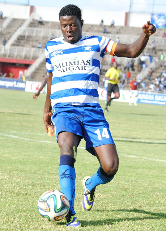 Allan Wanga during his days at AFC Leopards