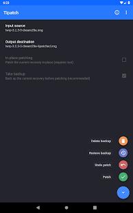 Tipatch • Backup internal storage 10