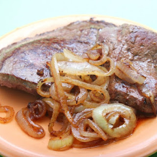 Broiled Beef Liver & Onions Recipe