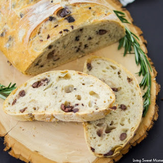 Rosemary Olive Bread.