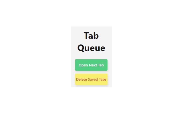 Tab Queue