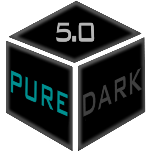 Pure Dark 5.0 EMUI 5 Theme