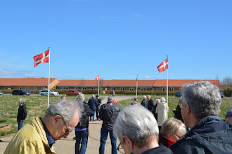 Photo: Flagprydet velkomst
