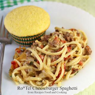Ro*Tel Cheeseburger Spaghetti Recipe