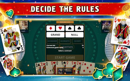 Skat Offline - Single Player Card Game 1.1.20 8