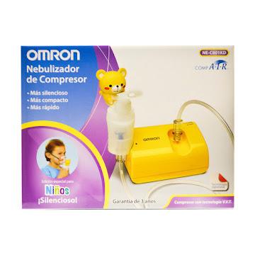 NEBULIZADOR DE COMPRESOR   NIÑOS OMRON NE-C801KD