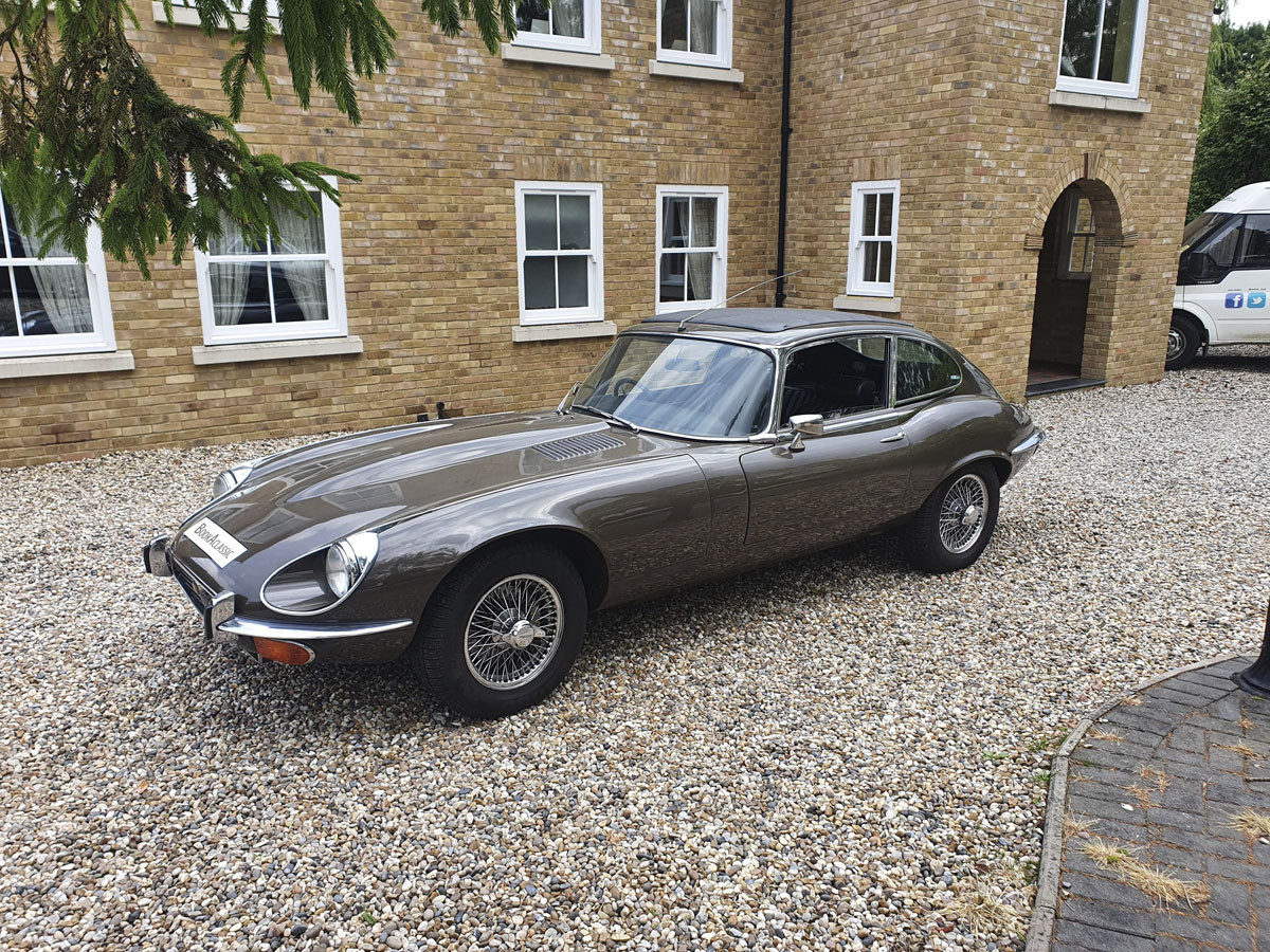 Jaguar E Type S3 V12 Hire Hertfordshire