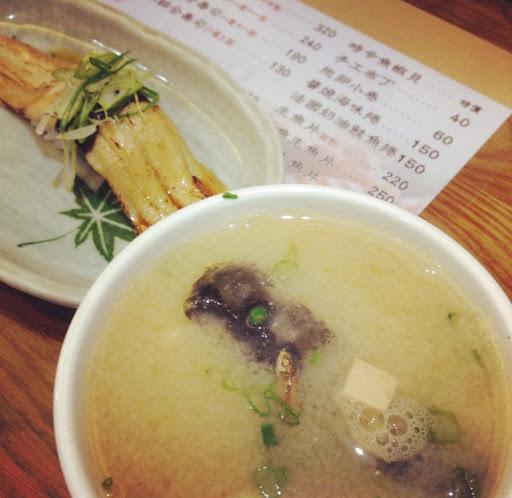 握壽司用心,湯也有水準