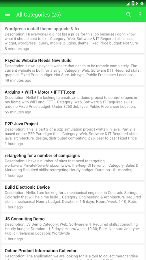 lance jobs android apps on google play  lance jobs screenshot