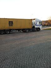 Photo: Daar is hij eindelijk de Container.