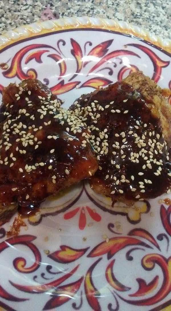 Baked Teriyaki Sesame Chicken Thighs Recipe