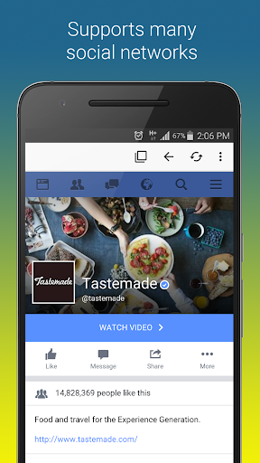 Browser for FB  screenshots 2