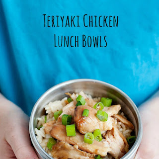 Quick and easy skillet recipes are my kind of meals and this teriyaki chicken is no different.Teriyaki Chicken Lunch Bowls