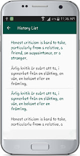english swedish translate apps on google play. Black Bedroom Furniture Sets. Home Design Ideas
