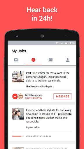 JOB TODAY u2013 jobs in 24hrs  screenshots 4
