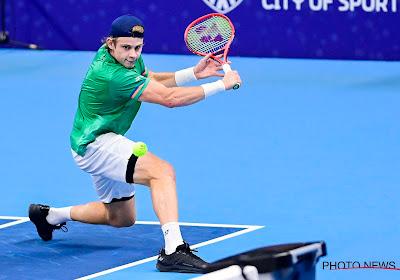 """Jonge Belgische tennisser maakt heel wat indruk en stijgt opnieuw heel wat plaatsen op de ATP-Ranking: """"Mijn doel is al gelukt"""""""