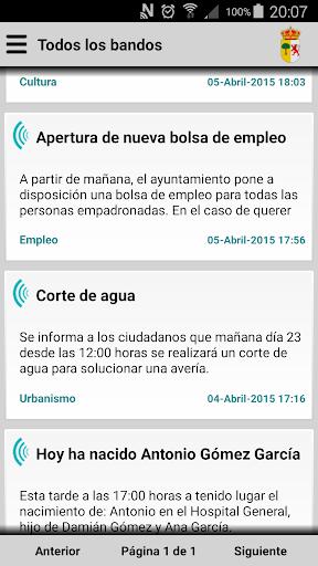 Cabezuela del Valle Informa