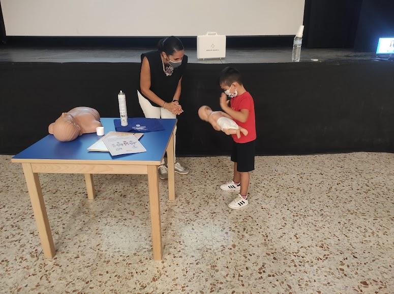 Diputación ha clausurado su programa de cursos sobre auxilios en entorno familiar.