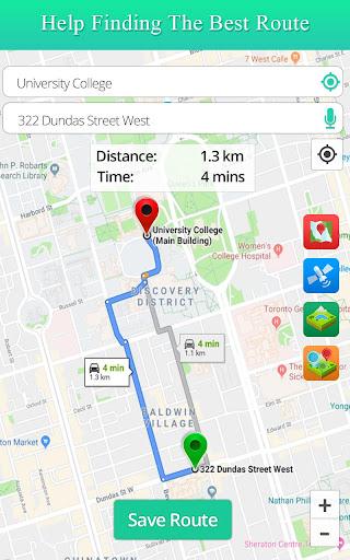 Live Satellite View GPS Map Travel Navigation Apk 1