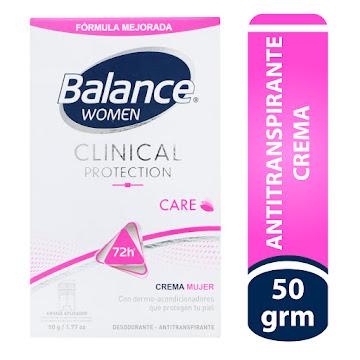 //Desodorante Balance   Clinical Crema Proteccion Women X50g
