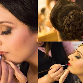Make Up Shoot  by Shrey Chohan - Wedding Bride ( love, wedding photography, wedding, happiness, candid, bride, photography )