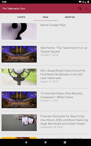The Tabernacle Choir screenshot 12