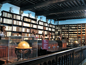 Photo: The big library.