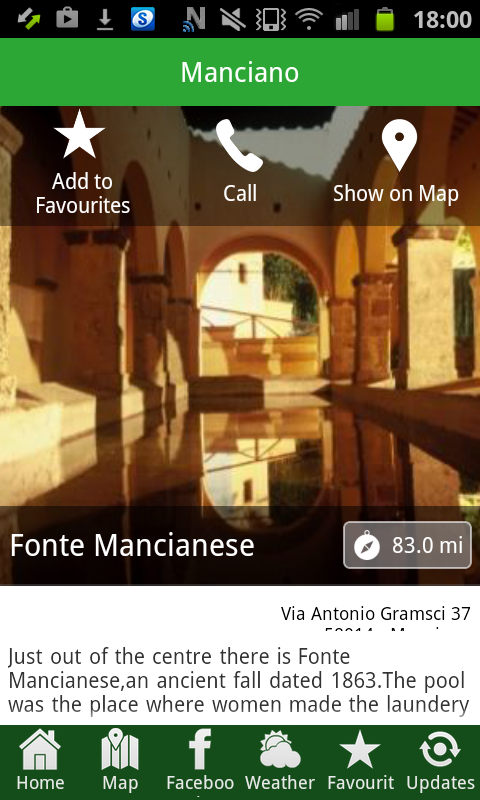Manciano- screenshot