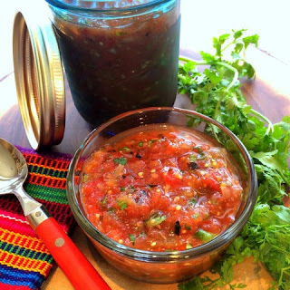 Authentic Chunky Roasted Salsa