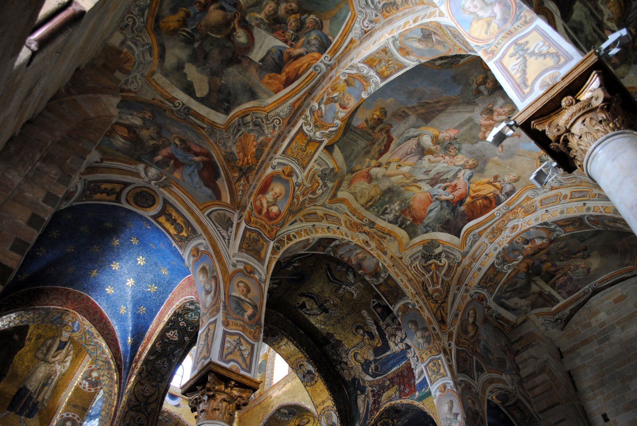 My Photos: Italy -- Sicily -- Palermo -- Churches