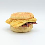 Breakfast Sandwich with Smokey Tofu (GF Available)