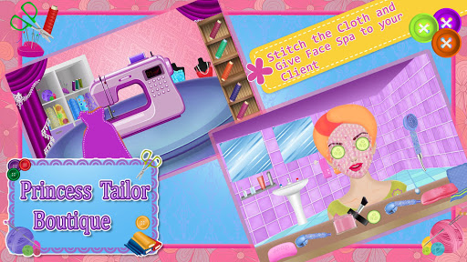 Princess Tailor Boutique Games 1.19 screenshots 5