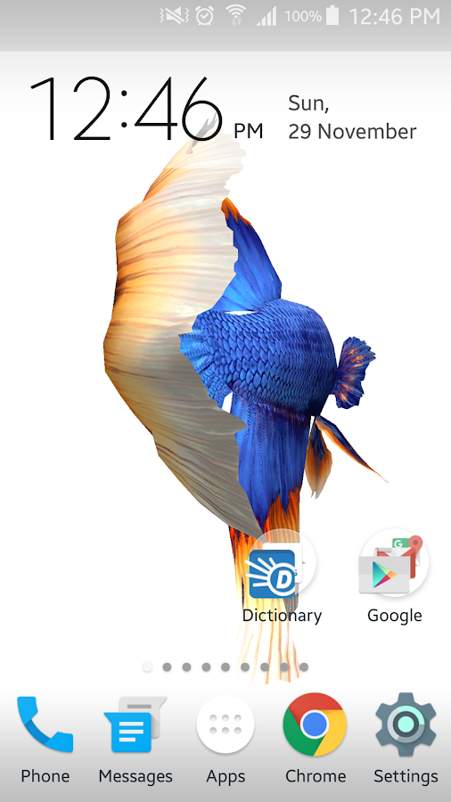 Betta fish 3d free android apps on google play for Siamese fighting fish crossword