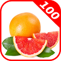 100 Fruits and Vegetables for Kids icon