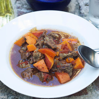 Cumin Beef with Sweet Potatoes