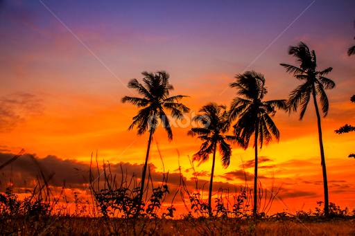 Sunset At Juanga Beach By Fahriadi Yusuf Abdulfattah