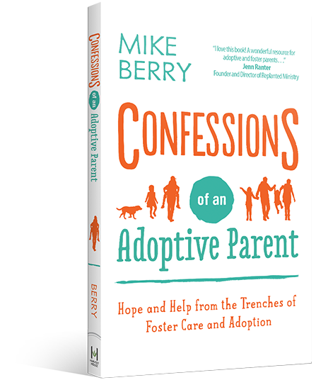 Confessions of an Adoptive Parent Book Cover Image