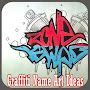 Graffiti Name Art Ideas APK icon
