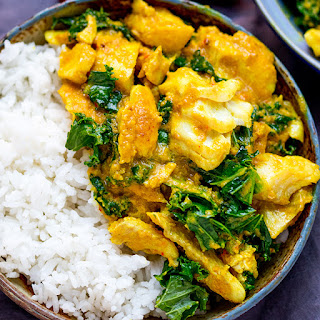 Easy From-Scratch Thai Yellow Curry With Fish.