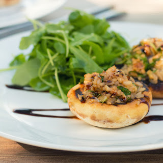 Cheese Stuffed Mushrooms Balsamic Recipes