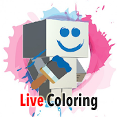 Paper Craft Live Coloring
